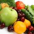 Stock Photo: Ripe vegetables and fruit