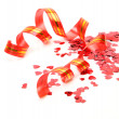 Streamer and confetti — Stock Photo #9784152