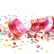Confetti and streamer — Stock Photo #9903846