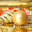 Stock Photo: New Year's ornaments