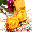 Yellow roses — Stock Photo #9922968