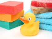 Subjects for a shower and baths — Stock Photo