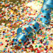 Confetti and streamer — Stock Photo #9933080