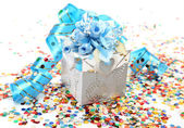 Box with a surprise — ストック写真