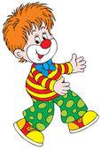 Circus clown — Stock Vector