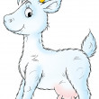 White goat — Stock Photo #8857169