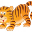 Tiger cub — Stock Photo #8857390
