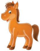 Cavallo sorridente — Foto Stock