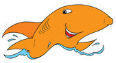 Smiling Shark — Стоковое фото