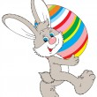 Easter Bunny — Vector de stock #8856937