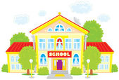 School — Vettoriale Stock