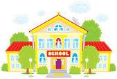 Scuola — Vettoriale Stock