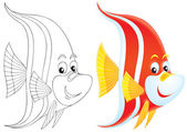 Tropikalna ryba — Zdjęcie stockowe