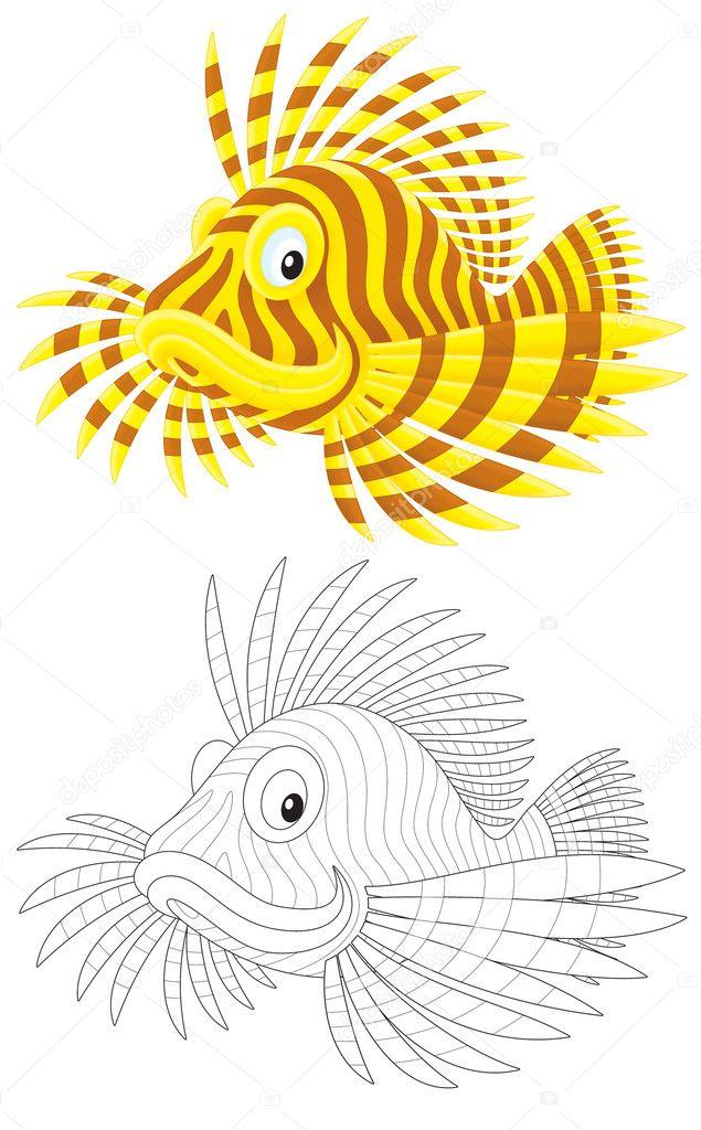 рыбалка на скорпиона
