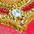 Beadwork background — Stock Photo