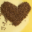Coffee heart — Stock Photo #10606509