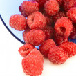Raspberries isolated - Stock Photo