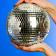 Stock Photo: Mirror ball