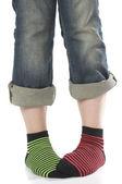 Color socks — Stock Photo