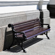 Foto Stock: Bench, decoration