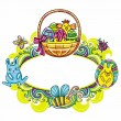 Royalty-Free Stock Vector Image: Easter framework