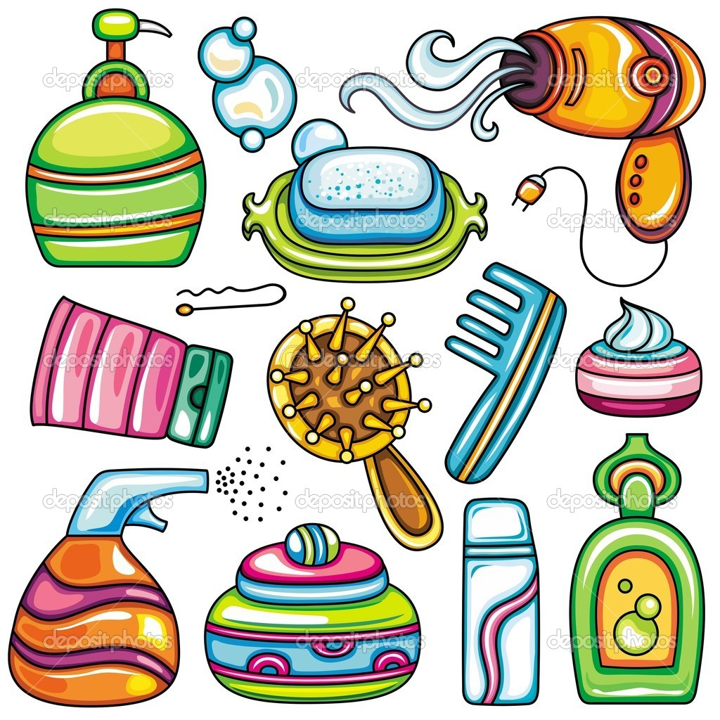 Vector Health, Beauty And Fashion Supplies Icons 2