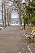 Lake in Ternopil — Stock Photo