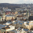 The city of Lviv — Stock Photo