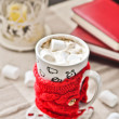 Coffee and marshmallows - Foto Stock