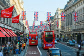 Oxford street, londra — Foto Stock