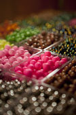 Pärlor i lådor — Stockfoto