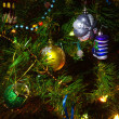Christmas tree with ornaments — Stock Photo #10449667