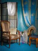 Interno raffinato boudoir — Foto Stock