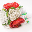 Decorative flower bead — Stock Photo
