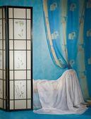 Raffinerad boudoir interiör — Stockfoto
