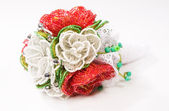 Decorative flower bead — Stock Photo