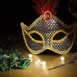 Accessories for the masquerade — Stock Photo