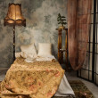 Bedroom in the vintage style — Foto Stock