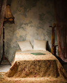 Interno camera da letto in stile vintage — Foto Stock