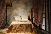 Sovrum inredning i vintage stil — Stockfoto