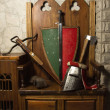 Medieval weapons — Stock Photo #10495218