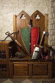Armas medievales — Foto de Stock