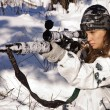 Sniper girl — Stock Photo #10516186
