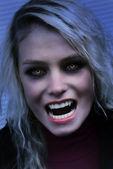 Hungry vampire — Stock Photo