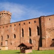 Teutonic castle in Poland (Swiecie) — Stock Photo #10566411