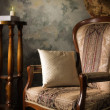 Stock Photo: Luxurious vintage interior with armchair