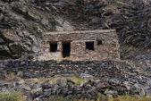 Ruins of the German military headquarters. Ridge Musta ridge, K — Stock Photo
