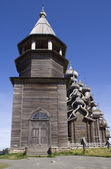 Kizhi, Russia. The Bell Tower — Stock Photo