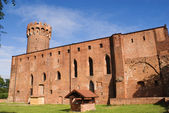Teutonic castle in Poland (Swiecie) — Stock Photo