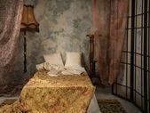 Camera da letto in stile vintage — Foto Stock